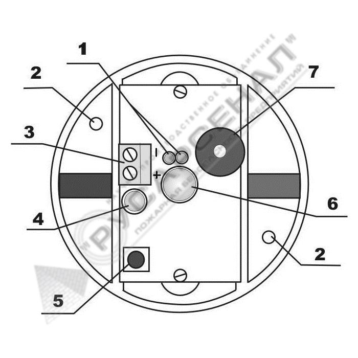 Схема устройства «